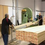 Machining Lengths Of Timber