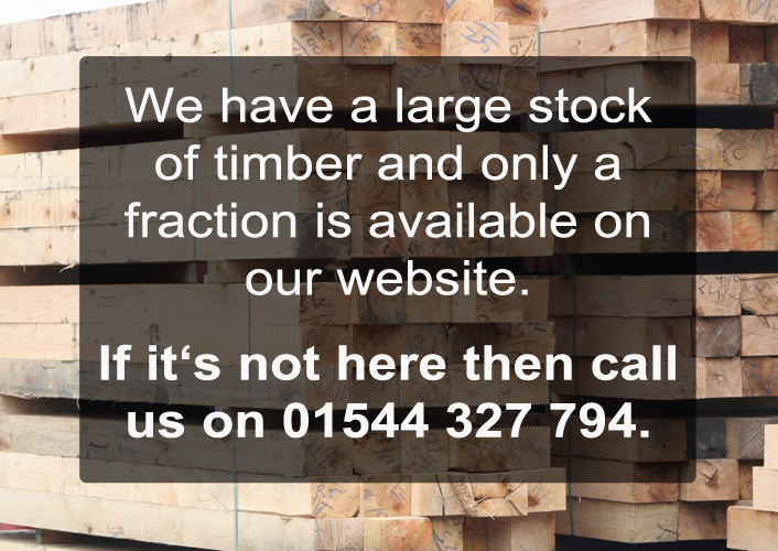 Large Stock Of Timber In Hereford
