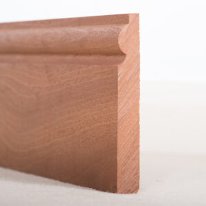 Sapele Skirting Board Torus