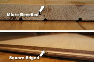 Micro Bevelled & Square Edge Flooring