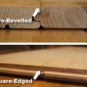 Micro Bevelled & Square Edge Flooring