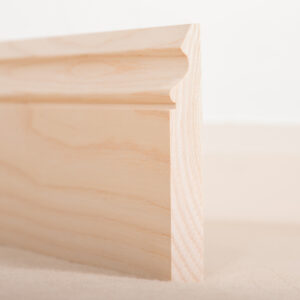 American Ash Skirting Board Ogee