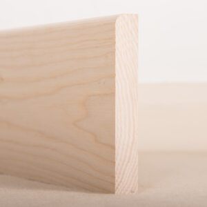American Ash Skirting Board Pencil Round