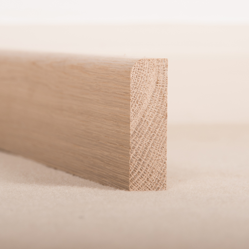 American White Oak Architrave Pencil Round