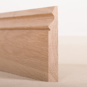 American White Oak Skirting Board Ogee