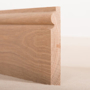 American White Oak Skirting Board Torus
