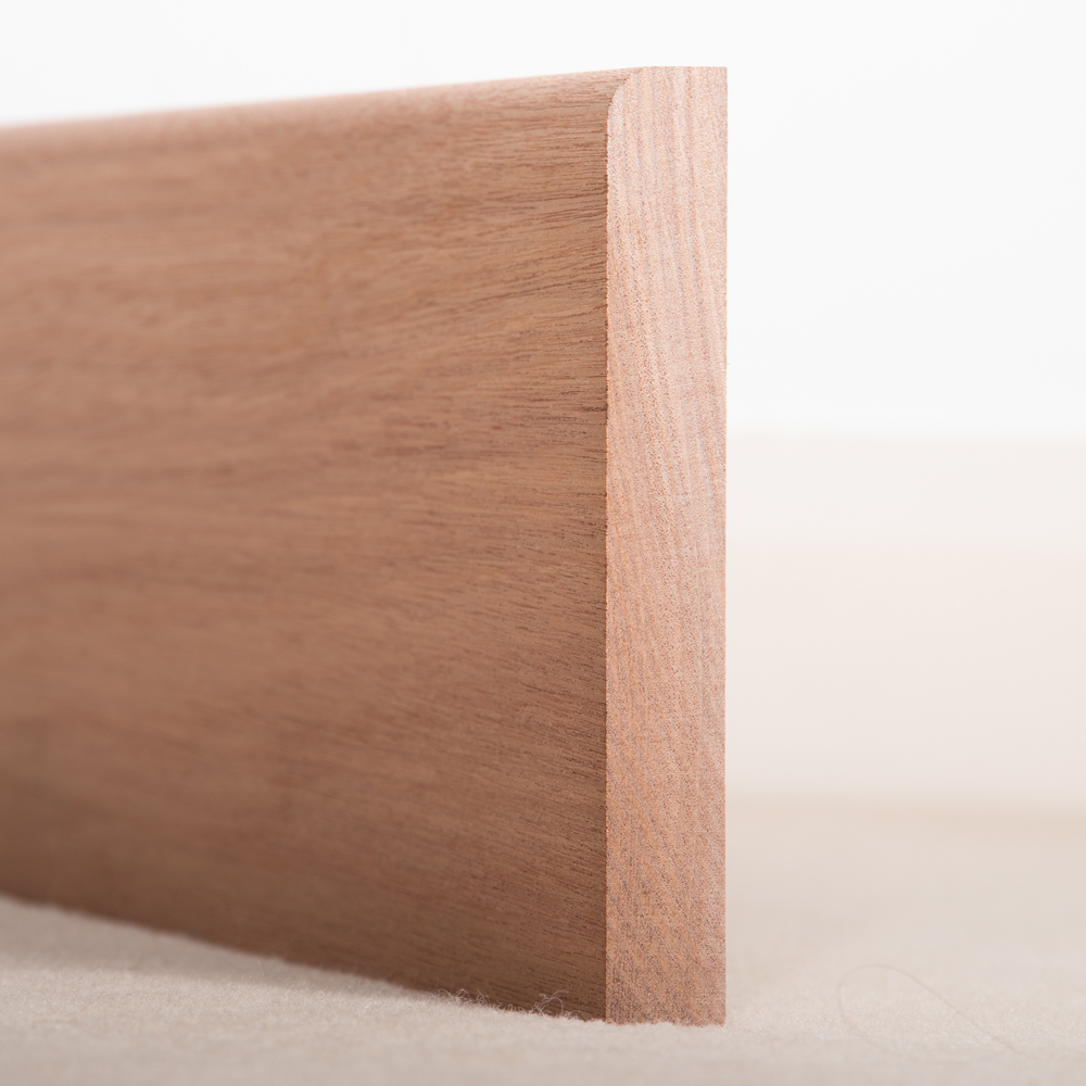 Sapele Skirting Board Pencil Round