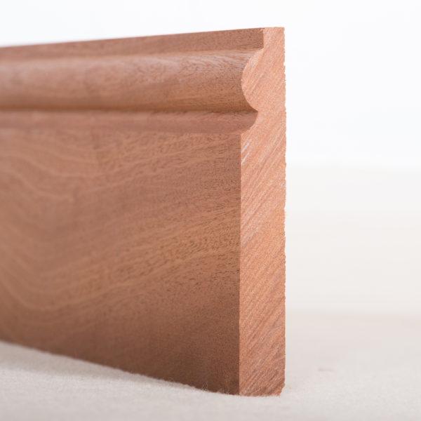 Sapele Skirting Board Torus
